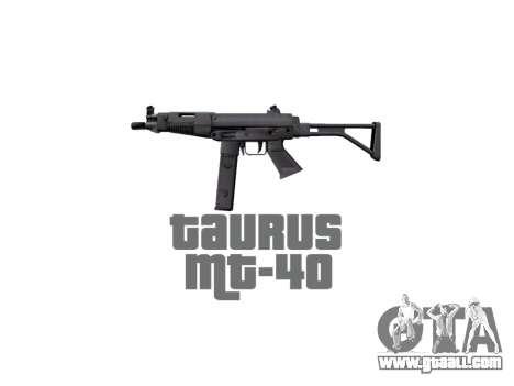 Gun Taurus MT-40 buttstock2 icon2 for GTA 4 third screenshot