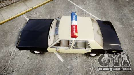Ford LTD Crown Victoria 1987 LAPD [ELS] for GTA 4 right view