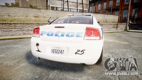 Dodge Charger 2010 PS Police [ELS] for GTA 4 back left view