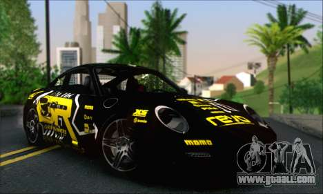 Porsche 997 Turbo Tunable for GTA San Andreas interior