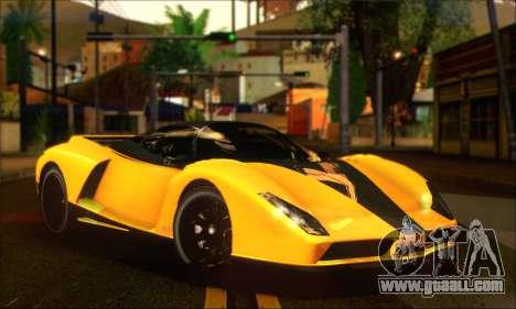 Grotti Cheetah (HQLM) for GTA San Andreas