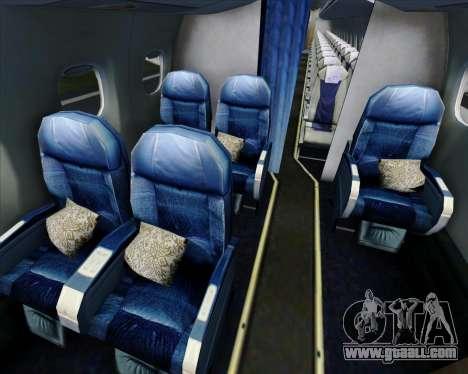 Embraer E-190 Virgin Blue for GTA San Andreas engine