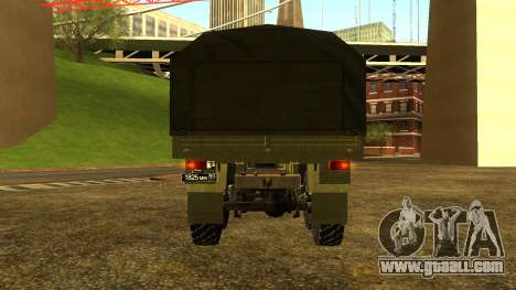 The KamAZ-6350 for GTA San Andreas left view