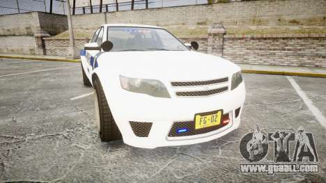 GTA V Cheval Fugitive LS Liberty Police [ELS] Sl for GTA 4