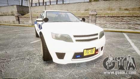 GTA V Cheval Fugitive LS Liberty Police [ELS] Sl for GTA 4