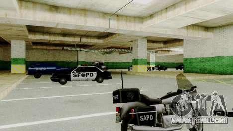 New vehicles in SFPD for GTA San Andreas third screenshot