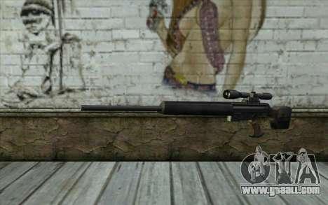 HK PSG1 from Beta Version for GTA San Andreas
