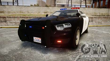 GTA V Bravado Buffalo LS Police [ELS] for GTA 4