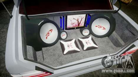 Mercedes-Benz E500 1998 Tuned Wheel White for GTA 4 inner view