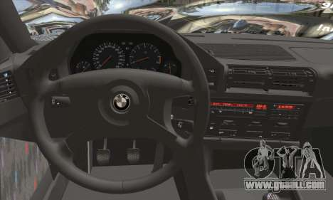 BMW M5 E34 V10 for GTA San Andreas back left view