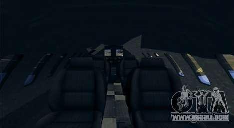 Buckingham Shamal GTA V for GTA San Andreas back left view
