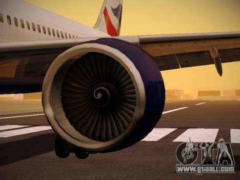 Boeing 757-236 British Airways for GTA San Andreas engine