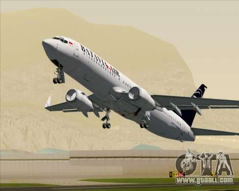 Boeing 737-800 Batavia Air for GTA San Andreas