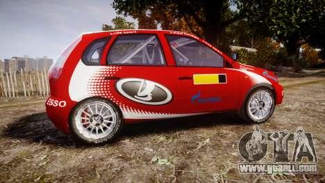 VAZ-Kalina 1119 RallyCross for GTA 4 left view