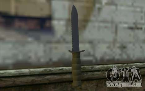 Combat knife (DayZ Standalone) v1 for GTA San Andreas second screenshot