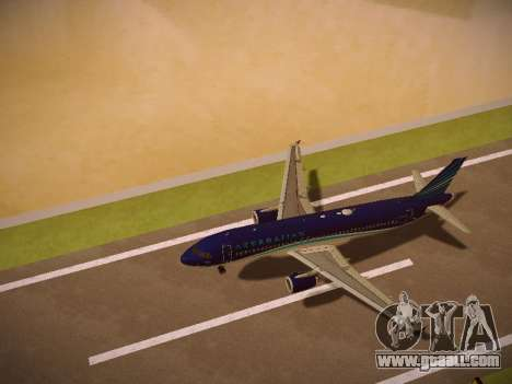 Airbus A320-214 Azerbaijan Airlines AZAL for GTA San Andreas engine