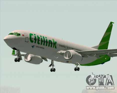 Boeing 737-800 Citilink for GTA San Andreas