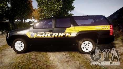 Chevrolet Suburban [ELS] Rims1 for GTA 4 left view