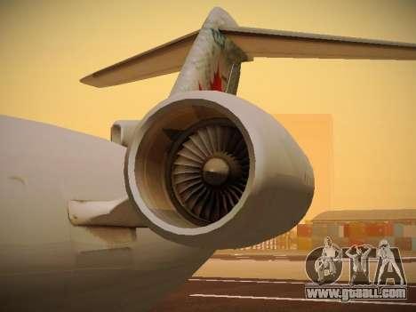 Bombardier CRJ-700 Air Canada Express for GTA San Andreas upper view