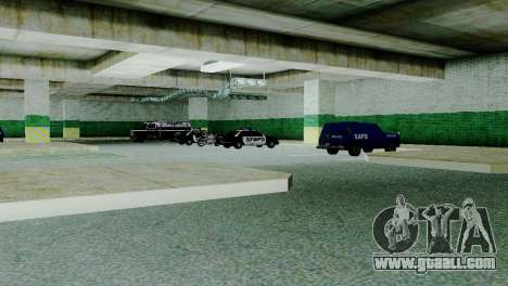 New vehicles in SFPD for GTA San Andreas second screenshot
