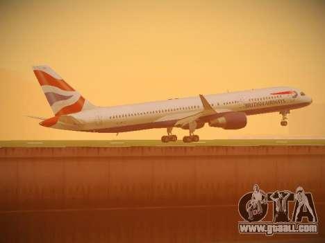 Boeing 757-236 British Airways for GTA San Andreas