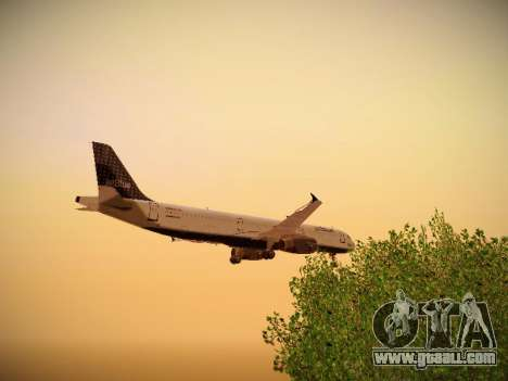 Airbus A321-232 jetBlue Woo-Hoo jetBlue for GTA San Andreas bottom view