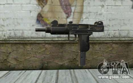 Mac 10 for GTA San Andreas