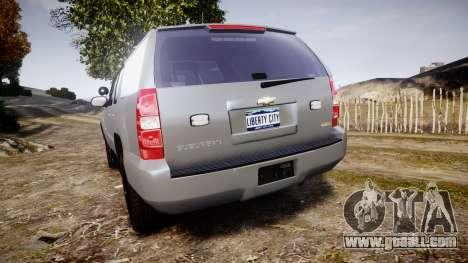 Chevrolet Suburban [ELS] Rims2 for GTA 4 back left view