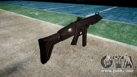 Gun SMT40 with butt icon3 for GTA 4 second screenshot
