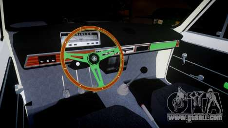 VAZ-2101 penny for GTA 4 inner view