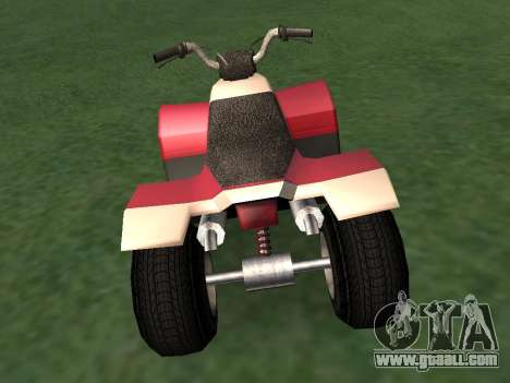 Updated Quad for GTA San Andreas left view