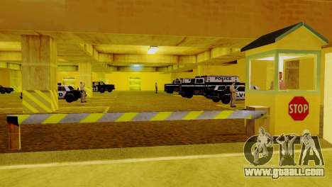 The revival of all police stations for GTA San Andreas