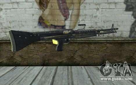 M60 from Battlefield: Vietnam for GTA San Andreas second screenshot