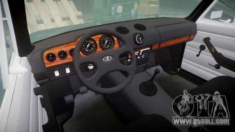 VAZ-2106 Vossen for GTA 4 inner view