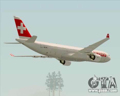 Airbus A330-300X Swiss International Air Lines for GTA San Andreas engine