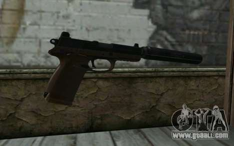FN FNP-45 With Silencer for GTA San Andreas second screenshot