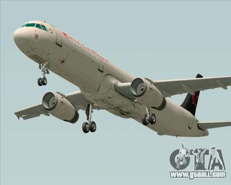 Airbus A321-200 Air Canada for GTA San Andreas side view