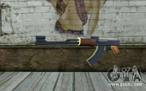 AK47 from Beta Version for GTA San Andreas