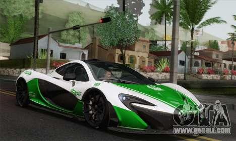 McLaren P1 HQ for GTA San Andreas interior