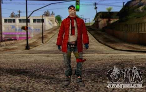 Vagabonds Skin 3 for GTA San Andreas