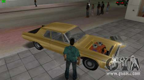 Dodge 330 Max Wedge Ramcharger 1963 for GTA Vice City upper view
