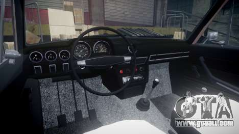 VAZ-2106 hooligan Azerbaijani style for GTA 4 back view