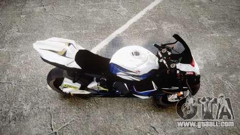 Suzuki GSX-R 1000 K10 for GTA 4 right view