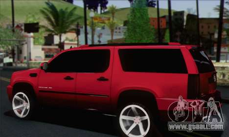 Cadillac Escalade ESV for GTA San Andreas left view