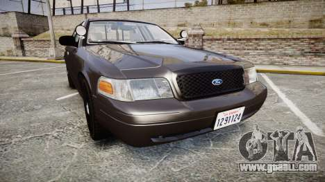 Ford Crown Victoria LASD [ELS] Unmarked for GTA 4