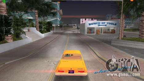 Dodge 330 Max Wedge Ramcharger 1963 for GTA Vice City left view