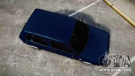 Fiat Uno for GTA 4 right view
