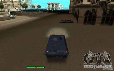 Car Indicator (HP) for GTA San Andreas second screenshot