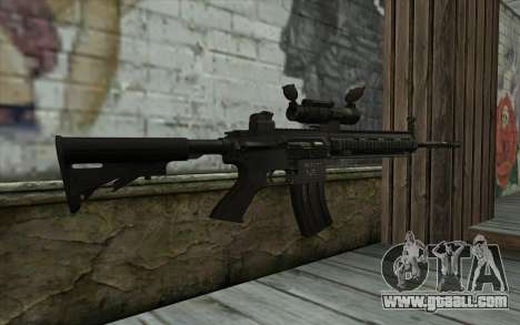 HK416 (Bump mapping) v1 for GTA San Andreas second screenshot