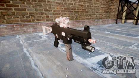 Gun UMP45 Cherry blossom for GTA 4